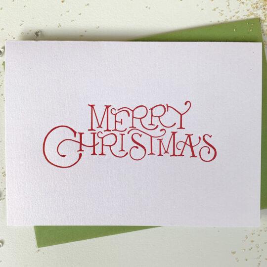 merry christmas - Box Set of 6