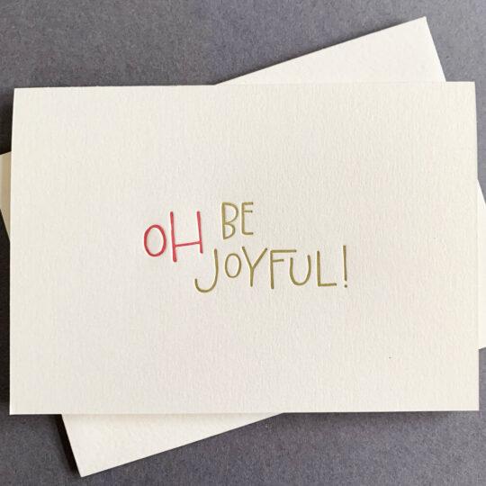 oh be joyful - Box Set of 6