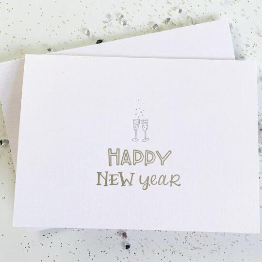 happy new year - Box Set of 6
