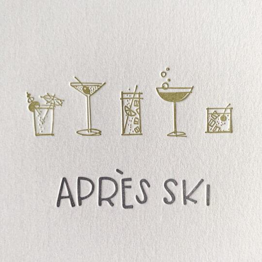 après ski - Box Set of 6