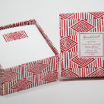 Red Diamond Square Notes