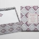 Lilac Spray Square Notes