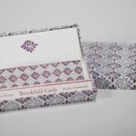 Lilac Spray Folded Card Set